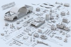 Mitsubishi - desmonte on Behance
