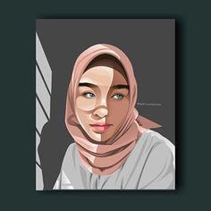 Caricature, Vector Art, Muslim, Dan, How To Draw Hands, Aurora Sleeping Beauty, Digital Art, Silhouette, Cartoon