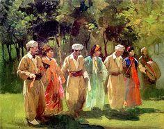 The Northern Iraqi (Kurdish) dance by the Iraqi Kurdish artist Serwan Baran