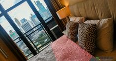 Live in a prestigious address even for just a few days. Have a staycation in Knightsbridge Residences Makati which is conveniently located in Century City Makati, Staycation, Philippines, Fancy, Throw Pillows, Bed, Holiday, Home, Toss Pillows