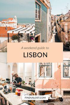 Lisbon Travel Guide | Find Us Lost