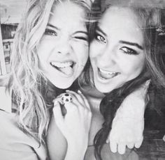 Adorable ButtahBenzo photo (Ashley Benson and Shay Mitchell)