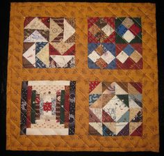 Heartspun Quilts ~ Pam Buda. Pinning for excellent courthouse steps