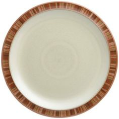 Denby Fire Stripes Dessert/Salad Plate by Denby. $35.00. Denby Fire Stripes Dessert/Salad Plate. Material: stoneware. Dishwasher, microwave, oven and freezer safe. Each piece of pottery is painstakingly glazed by skilled craftsman.. Strong, durable and chip-resistant. Raise the temperature with Denby's hottest pattern. Fire comprises rich, warm colours on the coolest curved shapes - add pieces from the Fire Chilli range to spice up your dining. Get things sizzling wit...