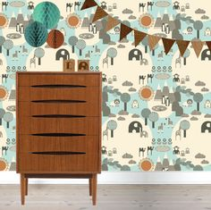 #wallpaper #zoo #kids #behang | wform