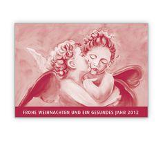 Küssende Engel als Weihnachts und Neujahrsgruß - http://www.1agrusskarten.de/shop/kussende-engel-als-weihnachts-und-neujahrsgrus-2/    00014_0_1039, Engel, Grußkarte, Klappkarte, Kuß, Liebe, Neujahr, Silvesterkarten, Weihnachtskarten00014_0_1039, Engel, Grußkarte, Klappkarte, Kuß, Liebe, Neujahr, Silvesterkarten, Weihnachtskarten