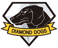 Metal Gear Solid V - Diamond Dogs Crest