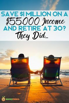 Retiring with a million dollars on a $55k income. Here are 4 different stories of getting to $1 million by 30. via @https://www.pinterest.com/TheMoneyPeach/