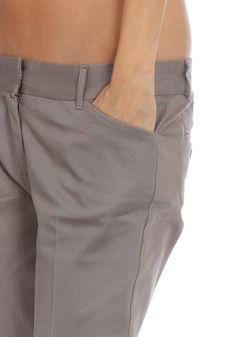 DICKIES Womens Svelte Chino Pant ash grey