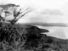 Coastline of Singapore, circa 1930.