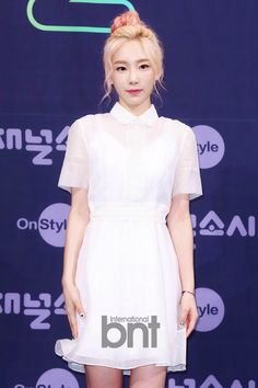 150721 Onstyle 'Channel SNSD' Press Conference SNSD Taeyeon