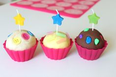 A cupcake play dough kit... Creative fun for little ones who love to bake!