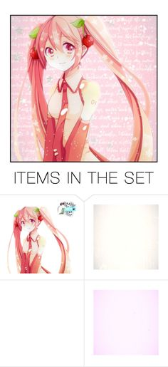 """""""🍒🍒"""" by carebear-chan ❤ liked on Polyvore featuring art, vocaloid and HatsuneMiku"""