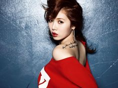 Hyuna~!! ღ My No.1 Female Kpop Idol. . . So Much Love For Her!!  And I Love Her Tattoo~~~~ ღ