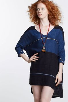 Striped Dancer Tunic - ace & jig