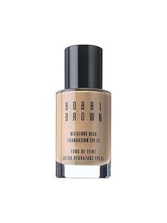 Bobbi Brown Moisture Rich SPF 15 Foundation 15ml/.5oz , Espresso 10. New, unused and unboxed. Limited edition deluxe sample 15ml/.5oz.