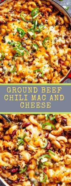 Ground Beef Chili Mac And Cheese cafedelites macandcheese chili easyrecipes dinner cincodemayo 739645938781591611 Ground Beef Crockpot Recipes, Ground Beef Recipes For Dinner, Dinner With Ground Beef, Dinner Recipes, Recipies With Ground Beef, Ground Beef Breakfast, Casseroles With Ground Beef, Ground Beef Meals, Ground Beef Recipes Mexican