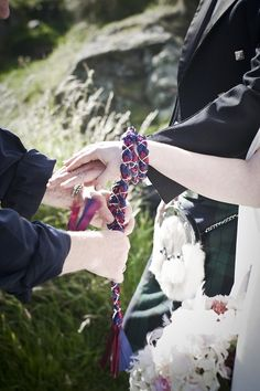 In Scotland it is now lawful to have a traditional Handfasting or pagan wedding under the Marriage (Scotland) Act 1977. This means that you can now have a legally binding marriage ceremony that suits your personal needs at your chosen location, without the necessity of a visit to a registrars office afterwards.