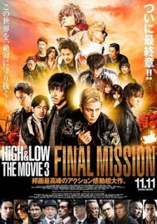 High & Low The Movie 3 : Final Mission (2017) BluRay Subtitle Indonesia