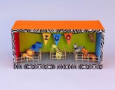 dioramen vorlagen und anleitungen boxes pinterest dioramen zirkus grundschule und. Black Bedroom Furniture Sets. Home Design Ideas