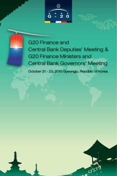 G20 Finance and Central Bank Deputies' Meeting & G20 Finance Ministers and Central Bank Governors' Meeting  Creative Designed by WITCHFACTORY