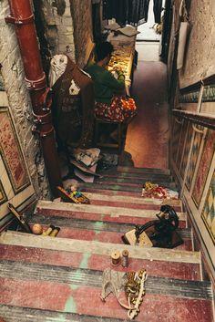 Stitcher & Calligrapher Rosalind Wyatt, Staircase to Somewhere - London Design Festival The New Craftsmen. London Design Festival, Some Pictures, Craftsman, Stitch, Woman, Create, Painting, Art, Artisan
