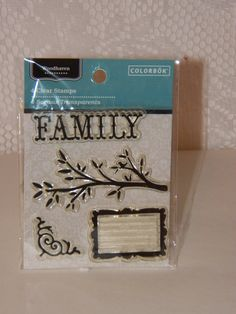 Check out the new SALE BINS! New items added all the time. Great deals and many surprises.  Family Stamp Set 0120 by CraftClearingHouse on Etsy, $1.00
