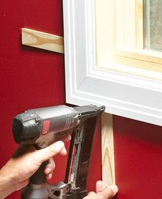 How to Install Window Trim - Article Tips And Tricks, Home Improvement Projects, Home Projects, Home Renovation, Home Remodeling, The Family Handyman, Garage Atelier, Trim Carpentry, Window Casing