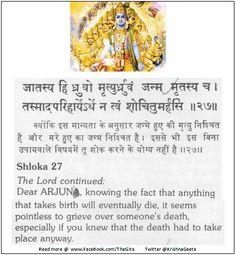 Bhagwad Geeta 2-27