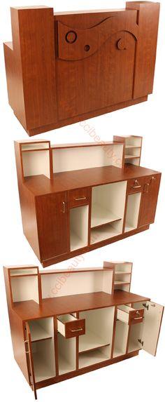 Reception Desk CC-8009-BlossomCherrywood