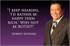 Becoming Rich Quotes, Robert Kiyosaki (Rich Dad)