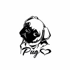 Image result for pug stencil
