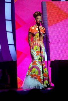 Beauté - Uniwax sublime la soirée Miss Côte d`Ivoire.