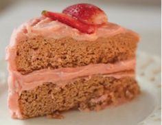We re suckers for strawberries and this tasty dessert takes them to new flavor heights. Use frozen, unsweetened whole strawberries for the puree, as they re softer and easier to work. Use summer s best fresh strawberries to garnish the frosted gluten-free cake. You can add a touch of red food coloring to the batter to create a deeper rosy…