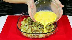 Vynikajúce recepty na rýchle a lacné jedlá zo zemiakov, ktoré viete rýchlo pripraviť v jednej mise. Deserts, Eggs, Breakfast, Ethnic Recipes, Chef Recipes, Food And Drinks, Cooking, Potato, Morning Coffee