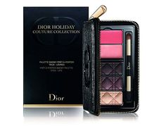 новогодние палетки диор 2016 Dior Couture Couture Smoky Palette for Eyes and Lips holiday set 2015 2016