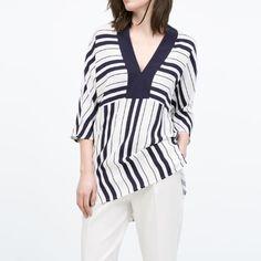 Zara tunic New with tag. Tunic dress. Zara Dresses