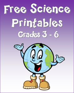 Free Science Printables for Grades 3 - 6 from Laura Candler's online file cabinet