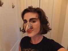 Owl fx makeup - Surprisingly comfortable!