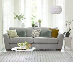 This Exciting New Addition To The House Beautiful DFS Sofa Collection Combines Sophisticated Style With Ultimate Comfort Styling Hannah Deacon