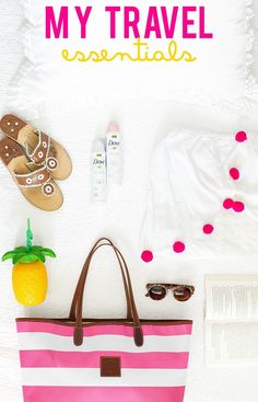 My Travel Essentials | spring style | spring fashion | fashion for spring | style for spring | warm weather fashion || a lonestar state of southern