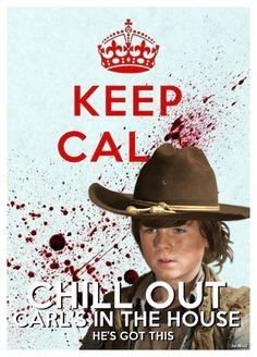 Carl, The Walking Dead