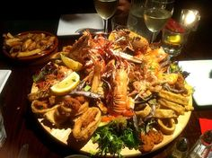 "thank you for following me the dishes in ur pix look so delicious that i ""yummed"" 'em all and i would like to see more thank you - 19件のもぐもぐ - Seafood Platter by Cindy Chan"