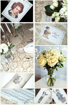 bnute productions: A Classical Affair: Dinner and Classical Music Party Invitations and Ideas