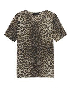 Top imprimé léopard - Top & T-Shirt - Femme - The Kooples - 100 €