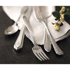 Amazon.com | Napa Style Vintage Silverware - 2-piece Hostess Set: Serving Sets