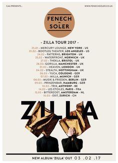 GoRockfest.Com: Fenech-Soler Tour Dates 2017