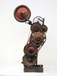 EVERYTHING MOVES, exposition Jean Tinguely by Akbar Simonse, via Flickr