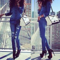 Fashion inspiration: Cutest handbags and heels