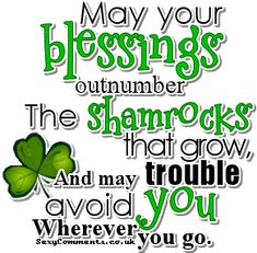 St Patrick Day Quote ♥ ♥ ♥